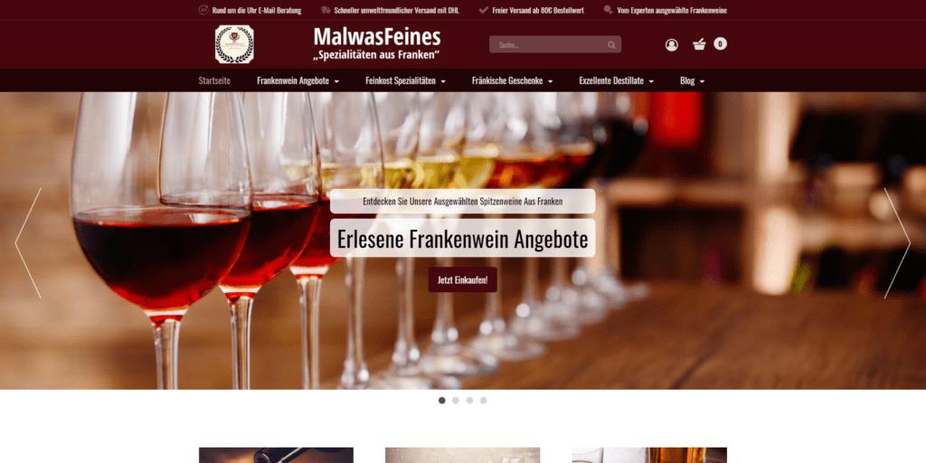 Malwasfeines-Onlineshop-Referenz