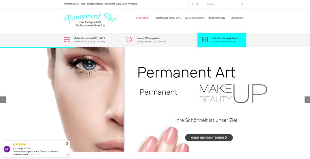 permanent-Art-Homepage