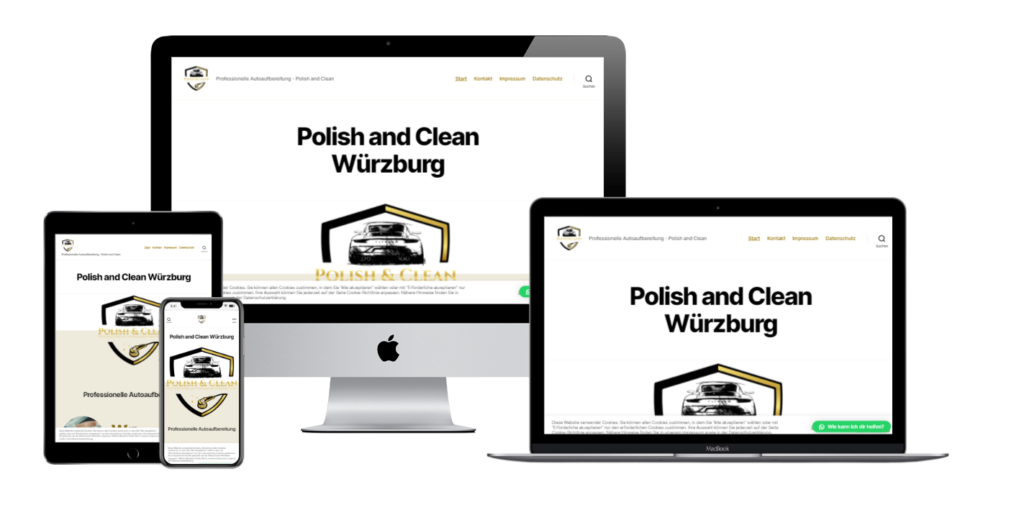 Polish & Clean Autoaufbereitung Kundenprojekt Referenz